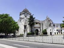 Chiesa di San Francisco de Paula a vecchia Avana, Cuba immagine stock libera da diritti