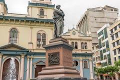 Chiesa di San Francisco a Guayaquil, Ecuador Fotografia Stock Libera da Diritti