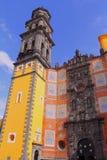 Chiesa di San Francisco a Puebla IV fotografia stock