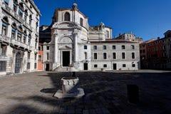 Chiesa di San Geremia church, Venice, Italy royalty free stock photography