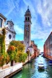 Chiesa di San Giorgio dei Greci, Venedig, Italien royaltyfri foto