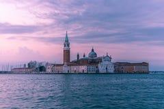 Chiesa di San Giorgio Maggiore fotos de stock