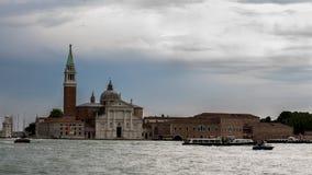Chiesa di San Giorgio di Maggiore a Venezia, Italia immagine stock libera da diritti