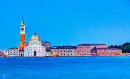 Chiesa di San Giorgio Maggiore a Venezia, Italia Fotografia Stock Libera da Diritti