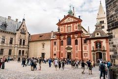 Chiesa di San Giorgio a Praga Fotografia Stock