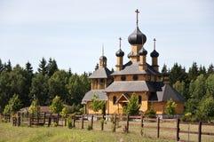 Chiesa di San Giovanni Battista del profeta del san in Bielorussia Immagini Stock Libere da Diritti