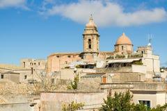 Chiesa di San Giuliano in Erice fotografia stock libera da diritti