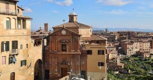 Chiesa di San Giuseppe Church em Siena, Itália Fotografia de Stock Royalty Free
