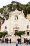 Chiesa di san Giuseppe, Taormina, Sicily Royalty Free Stock Photos