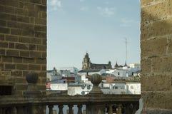 Chiesa di San Juan de los Caballeros, Jerez de la Frontera Fotografia Stock