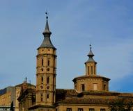 Chiesa di San Juan de los Panetes a Saragozza, Spagna Immagini Stock Libere da Diritti