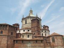 Chiesa di San Lorenzo, Milano Immagine Stock
