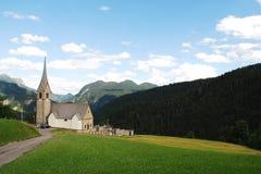 Chiesa di San Lorenzo in Sauris Stock Image