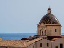 Chiesa di San Michele, Alghero Stock Photography