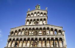 Chiesa di San Michele in Foro - Church of San Michele in Foro, Lucca Stock Photos