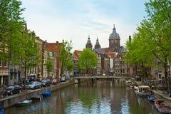 Chiesa di San Nicola, Amsterdam, Netherland fotografia stock