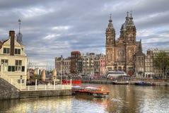 Chiesa di San Nicola a Amsterdam, Olanda Fotografia Stock