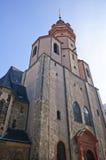 Chiesa di San Nicola - Leipzig, Germania Fotografia Stock Libera da Diritti