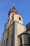 Chiesa di San Nicola - Leipzig, Germania Fotografie Stock Libere da Diritti