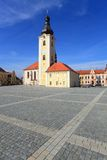 Chiesa di San Nicola nella città di Dobrany. Immagini Stock