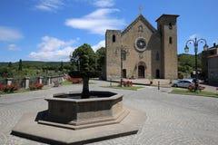 Chiesa di San Salvador en Italia foto de archivo libre de regalías