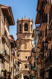 Chiesa di San Salvador, Getaria (Paese Basco) Spagna Immagini Stock