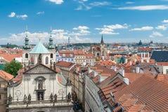Chiesa di San Salvatore, Praga, repubblica Ceca Fotografia Stock