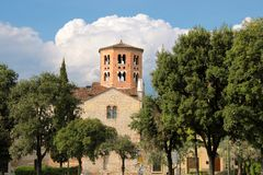 Chiesa di San Stefano in Verona Stock Image