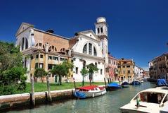 Chiesa di San Trovaso a Venezia Fotografie Stock Libere da Diritti