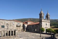 Chiesa di San Xoan provincia di Cerdedo, Pontevedra, Galizia, Spagna Immagine Stock