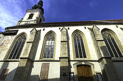 Chiesa di sankt Nikolaus Fotografia Stock