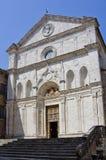 Chiesa di Sant Agostino i Montepulciano, Italien Arkivbild