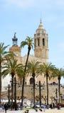 Chiesa di Sant Bartomeu e di Santa Tecla Immagine Stock Libera da Diritti