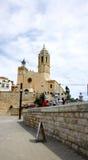 Chiesa di Sant Bartomeu e di Santa Tecla, Immagine Stock