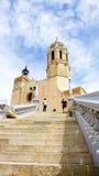 Chiesa di Sant Bartomeu e di Santa Tecla Fotografia Stock