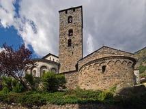 Chiesa di Sant Esteve Immagine Stock Libera da Diritti