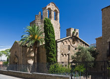 Chiesa di Sant Pau del Camp Fotografia Stock