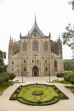 Chiesa di Santa Barbara, in città Kutna Hora, repubblica Ceca Fotografia Stock