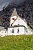Chiesa di Santa Croce - di Dolomiti Fotografie Stock Libere da Diritti