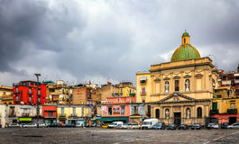 Chiesa di Santa Croce e Purgatorio al Mercato Royalty Free Stock Photography