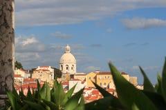 Chiesa di Santa Engracia a Lisbona Fotografia Stock Libera da Diritti