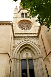 Chiesa di Santa Eulalia Majorca Immagini Stock