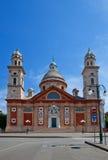 Chiesa di Santa Maria Assunta (XVI C.). Carignano, Genova, Italia Fotografie Stock