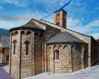 Chiesa di Santa Maria de Taull, Catalogna, Spagna Immagini Stock