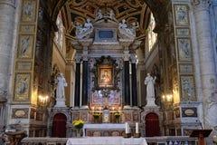 Chiesa di Santa Maria del Popolo, Roma Fotografia Stock