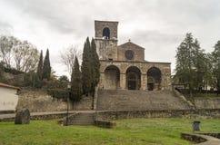 Chiesa di Santa Maria della Libera royaltyfri bild