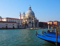 Chiesa di Santa Maria Della Salute a Venezia, Italia fotografie stock libere da diritti