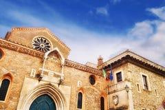 Chiesa di Santa Maria Maggiore, Tivoli fotografia stock