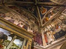 Chiesa di Santa Trinita, Firenze, Italia Fotografia Stock Libera da Diritti