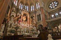 Chiesa di Santisimo Sacramento a Buenos Aires Fotografia Stock Libera da Diritti